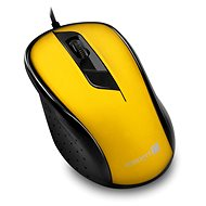 CONNECT IT Optical USB Mouse Yellow - Mouse