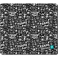 "Mouse Pad CONNECT IT CMP-1125-MD ""DOODLE"" Gaming Series Middle - Podložka pod myš"