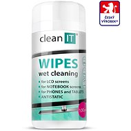 Cleaner CLEAN IT Wet Cleaning Wipes for Plastics 100 pcs - Čisticí prostředek