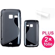 CONNECT IT S-Cover Samsung Galaxy Y Duos (S6102) black - Mobile Phone Case
