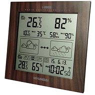 Weather Station Hyundai WS 2244W Wood Design - Weather Station -