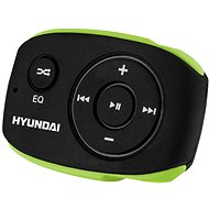 MP3 Player Hyundai MP 312 4GB Black-green - MP3 přehrávač