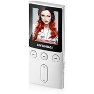 MP4 Player Hyundai MPC 501 FM 8GB silver - MP4 přehrávač