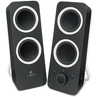 Speakers Logitech Multimedia Speakers Z200 black - Reproduktory