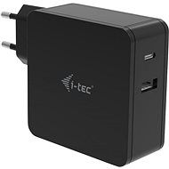 TEC USB-C Charger 60W + USB-A Port 12W - AC Adapter