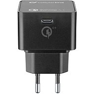 Cellularline Power Delivery (PD) max 30W Qualcomm® Quick Charge ™ 4+ black - Charger