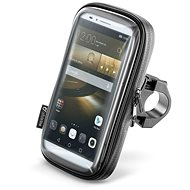 """Cellularline Interphone SMART for Phones up to 6.0"""" - Black - Mobile Phone Case"""