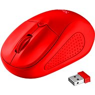 Trust Primo Wireless Mouse Matte Red - Mouse