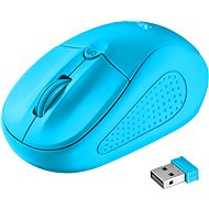Trust Primo Wireless Mouse Neon Blue - Mouse