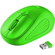 Trust Primo Wireless Mouse Neon Green - Mouse