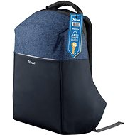 """Trust Nox Anti-theft Backpack for 16"""" Laptops - Blue - Laptop Backpack"""