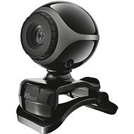 Trust Exis Webcam - Black and Silver - Webcam