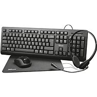 Trust Primo 4-in-1 Home Office Set - CZ/SK - Mouse/Keyboard Set