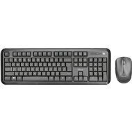 TRUST NOVA WIRELESS DESKSET CZ/SK - Mouse/Keyboard Set