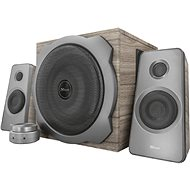 TRUST Tytan 2.1 Speaker Set - wood - Speakers