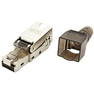 OEM Connector RJ45 Cat. 6a, Shielded, Toolless Mounting