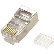OEM Connector RJ45 cat. 6/6a Shielded, for Round Cable, 100pcs - Connector