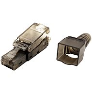 OEM Connector RJ45 Cat 6a, Unshielded, Toolless Mounting - Connector