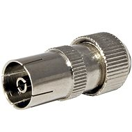 OEM Antenna connector 75 Ohm PAL (F), IEC169-2, screw, metal - Connector