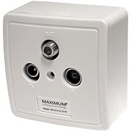 Maximum TV/R/SAT MX 610 Set - Socket