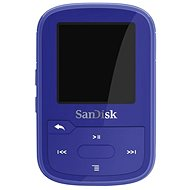 SanDisk Sansa Clip Sports Plus 16GB blue - MP3 Player