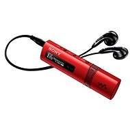 MP3 Player Sony WALKMAN NWZ-B183FR red - MP3 přehrávač