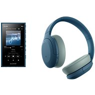 Sony MP4 16GB NW-A105L Blue + Sony Hi-Res WH-H910N, Blue
