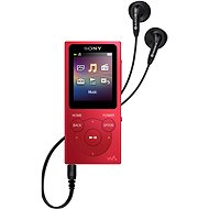 Sony NW-E394L, Red - MP4 Player