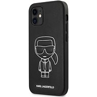 Karl Lagerfeld PU Embossed for Apple iPhone 12 Mini, White - Mobile Case