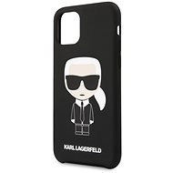 Karl Lagerfeld Iconic for iPhone 11 Pro, Black - Mobile Case