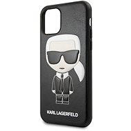 Karl Lagerfeld Embossed iPhone 11 Pro Black - Mobile Case