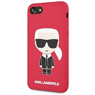 Karl Lagerfeld Full Body for iPhone 7/8, Red - Mobile Case
