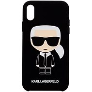 Karl Lagerfeld Full Body for iPhone 7/8, Black - Mobile Case