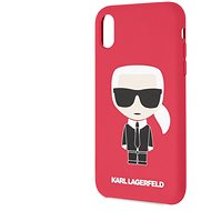 Karl Lagerfeld Full Body Iconic for iPhone XR, Red - Mobile Case