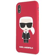 Karl Lagerfeld Iconic Bull Body for iPhone X/XS, Red