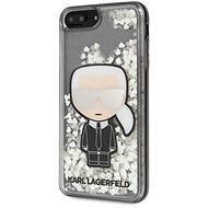 Karl Lagerfeld Liquid Glitter Iconic Cover for iPhone 7/8 Plus - Mobile Case