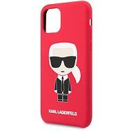 Karl Lagerfeld Iconic Body Cover for iPhone 11, Red (EU Blister)