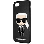 Karl Lagerfeld Full Body Iconic for iPhone 8/SE 2020, Black - Mobile Case