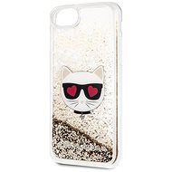 Karl Lagerfeld Floating Hearts for iPhone 8/SE 2020, Gold
