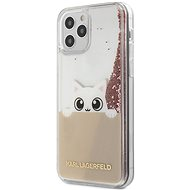 Karl Lagerfeld Liquid Glitter Peek a Boo for Apple iPhone 12/12 Pro, Pink