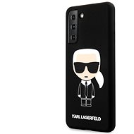 Karl Lagerfeld Iconic Full Body Silicone Case for Samsung Galaxy S21+ Black