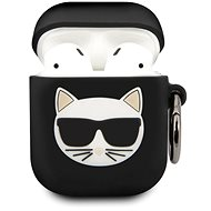 Karl Lagerfeld Choupette Case for Airpods 1/2 Black - Case