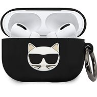Karl Lagerfeld Choupette Case for Airpods Pro Black - Case