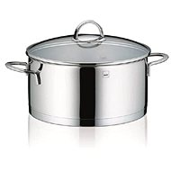 Kela CAILIN 5l Stainless Steel Saucepan with Glass Lid - Pot