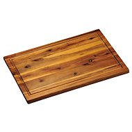 Kesper Acacia Wood Chopping Board with grooves 40x26cm