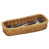 Kesper Rectangular Cutlery Basket, 28 x 11,5cm - Basket