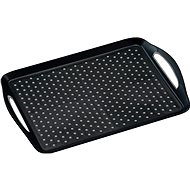 Kesper Plastic Non-slip Serving Tray, Black, 45,5 x 32cm - Tray