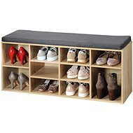 Kesper Shoe Cabinet with Bench - Shoe Rack