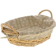 Kesper Bread Basket oval with textile lining