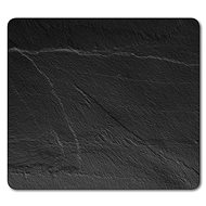 Kesper Multifunction Glass Plate with Slate Motif, 56 x 50cm - Chopping board